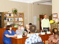 Межрегиональная школа молодых библиотекарей стартовала в Феодосии