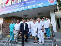 Сергей Аксёнов посетил учреждения социальной защиты населения в Бахчисарайском районе