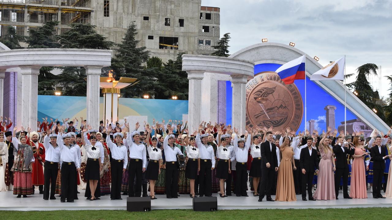 В Алуште стартовал Фестиваль культуры  и спорта народов Юга России (ФОТОРЕПОРТАЖ)