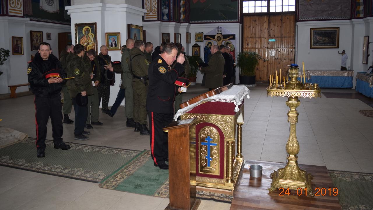 Джанкой:  В Джанкое прошла панихида в память о жертвах геноцида казаков.