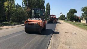 За август Крымавтодор отремонтировал 210 000 м2 дорог