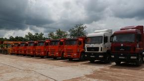 Крымавтодор получил 32 единицы новой спецтехники