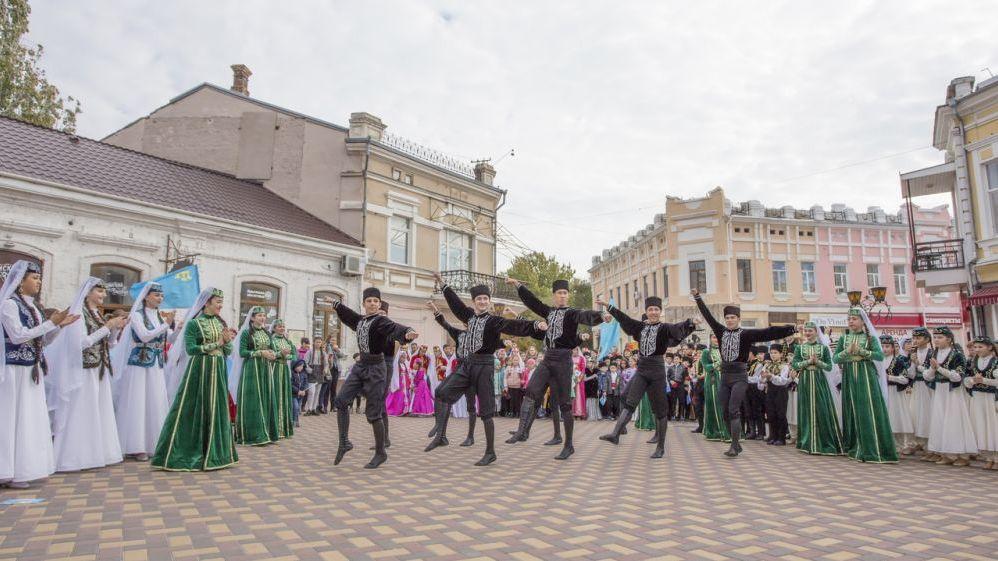 Республиканский фестиваль-конкурс крымскотатарской культуры  «Кефе гуллери»