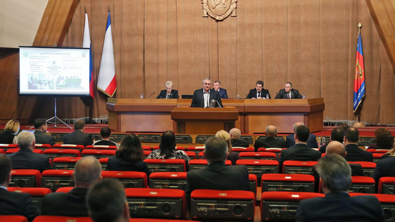 Сергей Аксёнов: В 2017 году общий рост экономики составил 10%