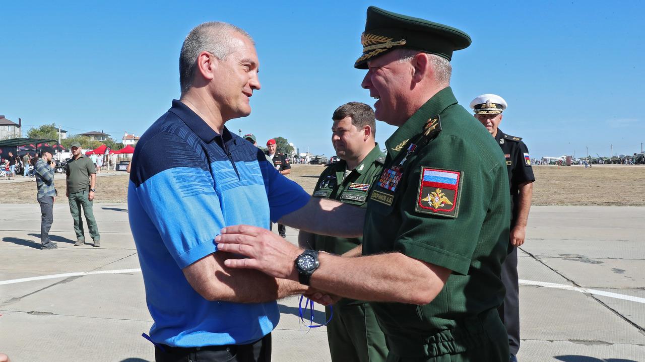 Сергей Аксёнов принял участие в VI Международном военно-техническом форуме «Армия-2020» в Севастополе