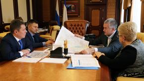 Сергей Аксёнов в ходе рабочей встречи обсудил проблемные вопросы крымской столицы