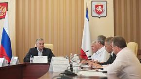 Сергей Аксёнов провёл рабочую встречу с членами организации «Герои Отечества» города Севастополя и Республики Крым