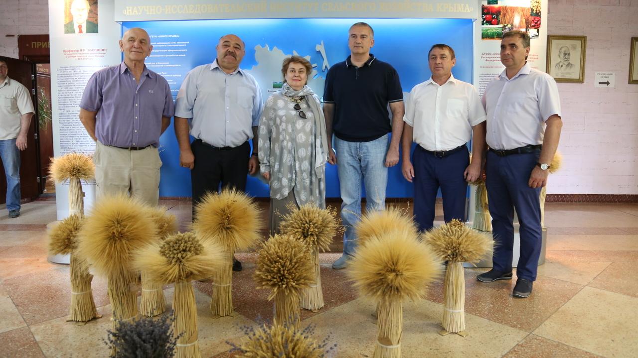 Сергей Аксёнов: В Крыму необходимо полностью переориентироваться на выращивание засухоустойчивых зерновых культур