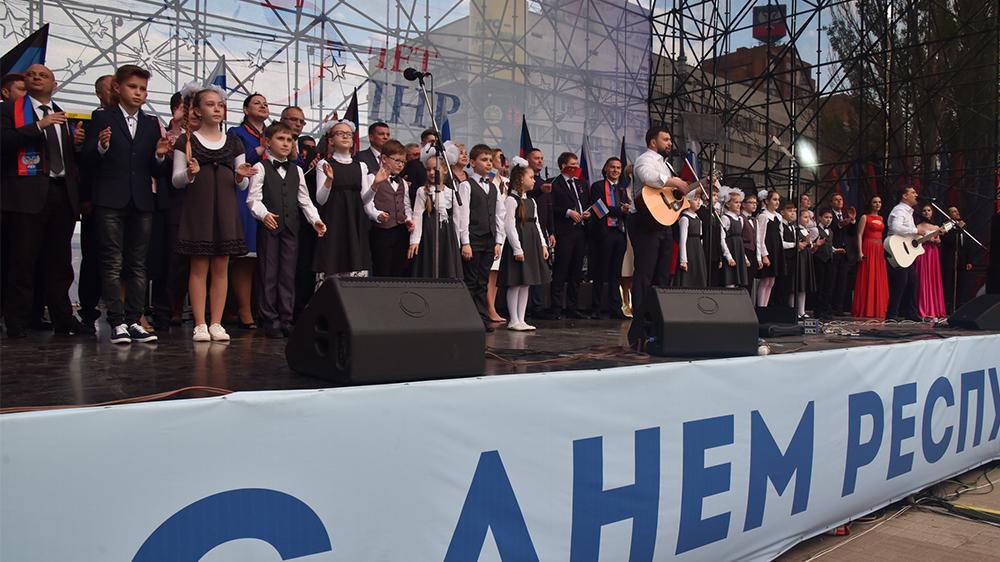 Сергей Аксёнов в Донецке принял участие в праздничных мероприятиях, посвящённых пятилетию Донецкой Народной Республики
