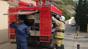 МЧС Крыма: Огнеборцы «Пожарной охраны Республики Крым» провели пожарно-тактическое занятие на объекте с массовым пребыванием людей