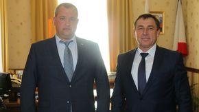 Юрий Гоцанюк провел рабочую встречу с делегацией Тамбовской области