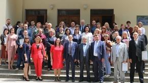 Арина Новосельская вручила награды специалистам музейного дела Крыма