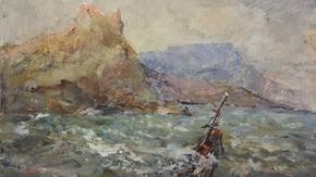Музей-заповедник «Судакская крепость» продолжает знакомить посетителей с творчеством ярких и самобытных крымских художников