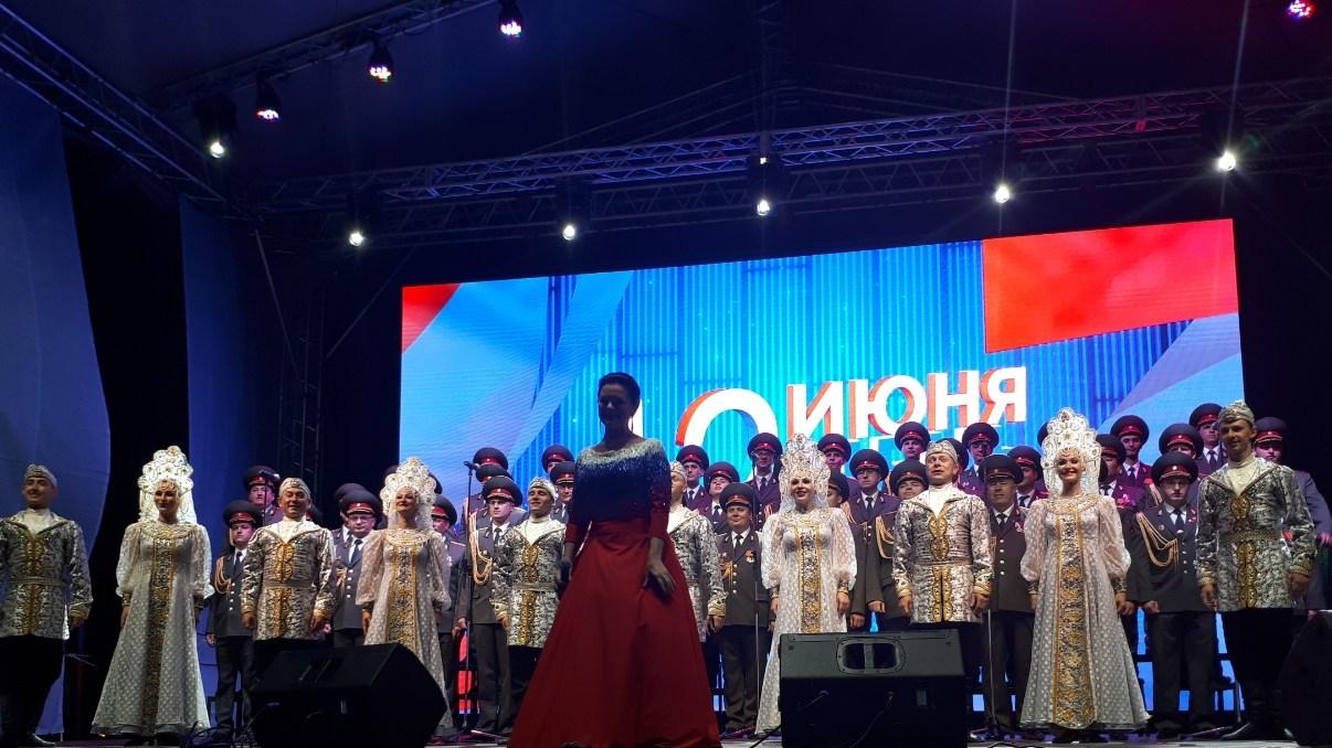Министерство культуры Крыма представило праздничный концерт «Тебе, Россия, посвящаем!»