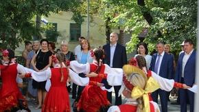 Арина Новосельская приняла участие в торжественном открытии реконструированного Белогорского районного Дома культуры