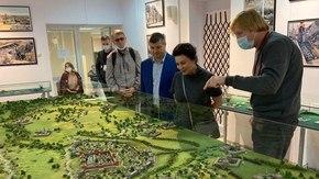 Арина Новосельская посетила историко-культурные объекты города Тулы
