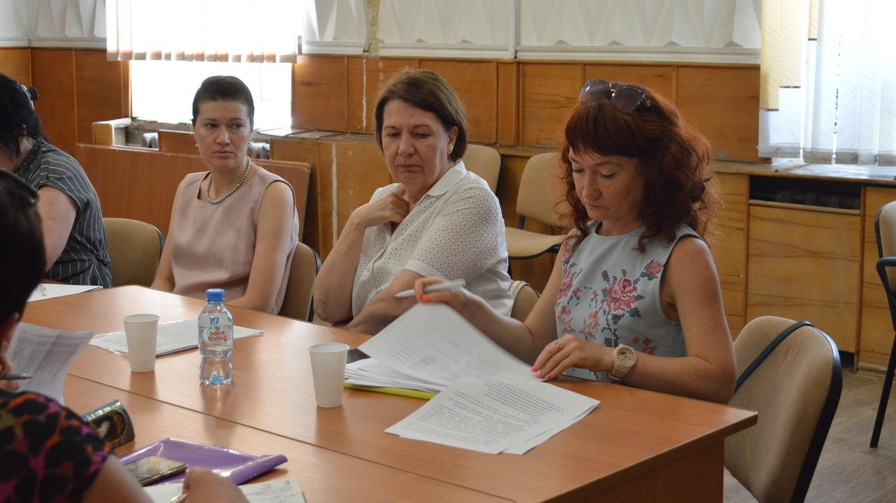 Валентина Бойко провела круглый стол, посвященный проблемам кадровой политики в отрасли образования Республики Крым