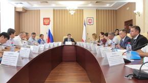 Андрей Рюмшин принял участие в совещании по вопросам переданных полномочий в области ветеринарного и фитосанитарного надзора