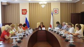 Елена Романовская приняла участие в заседании Комиссии по реализации пенсионных прав граждан
