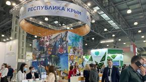 Туристический потенциал Крыма презентовали на Международной выставке в Москве
