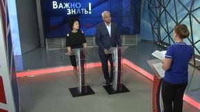 Виталий Глотов рассказал телезрителям о выгоде установки индивидуальных приборов учета воды