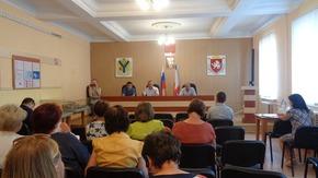 Встреча в администрации Нижнегорского района