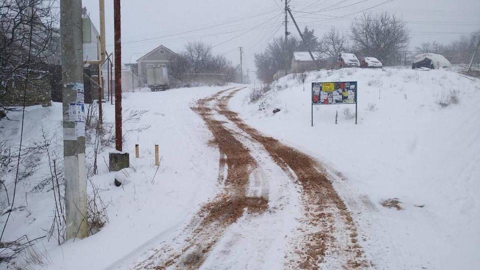 В Симферопольском районе продолжается ликвидация последствий непогоды