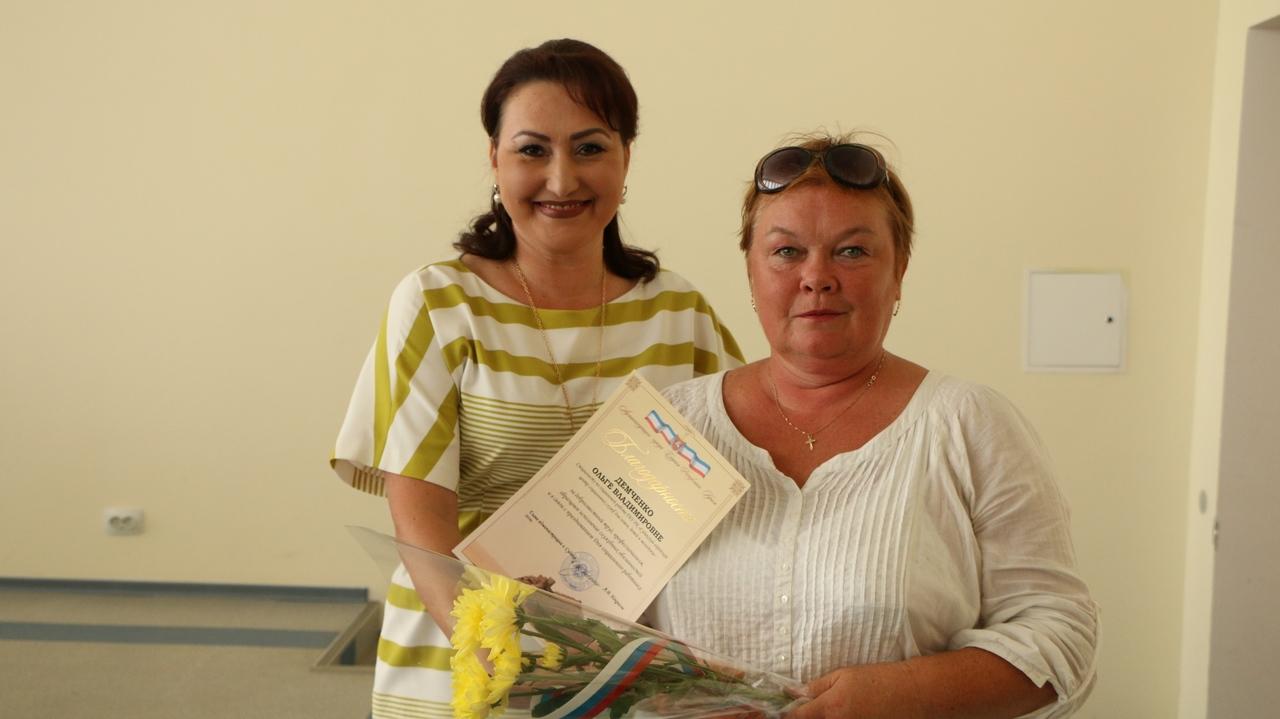 В Судаке поздравили социальных работников с профессиональным праздником