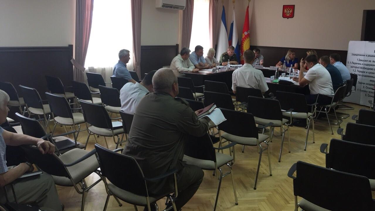 6 июня на территории городского округа Судак прошло командно-штабное учение по территориальной обороне