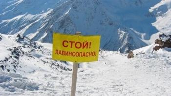 Экстренное предупреждение о лавиноопасности в горах Крыма на 1-2 марта